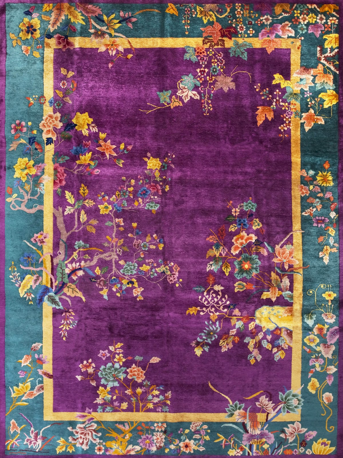 Art deco chinese rugs roselawnlutheran for Abc carpet home inc