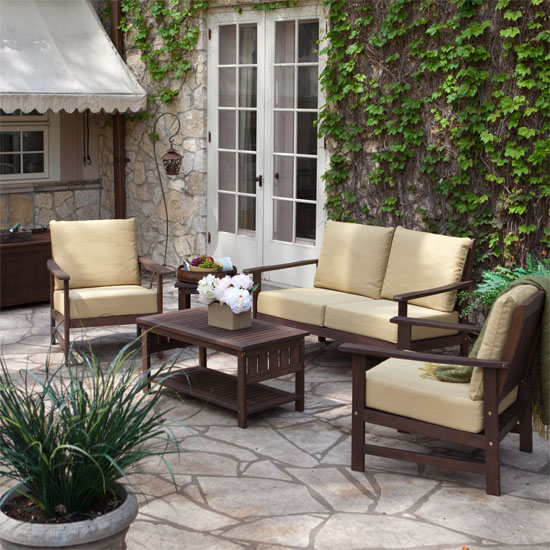 Luxury House Furniture Wooden Outdoor Furniture