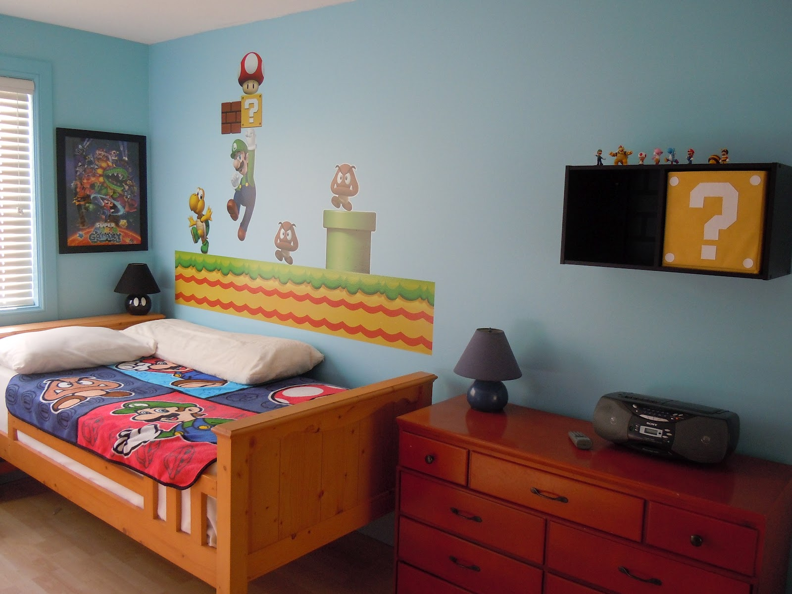 Mario Bedroom Decor Super Mario Bros Bedroom Decor