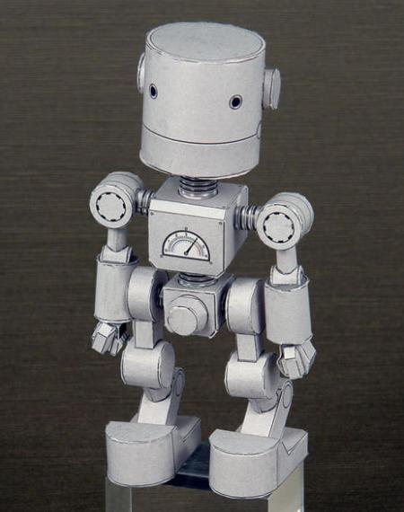 robot dari kertas