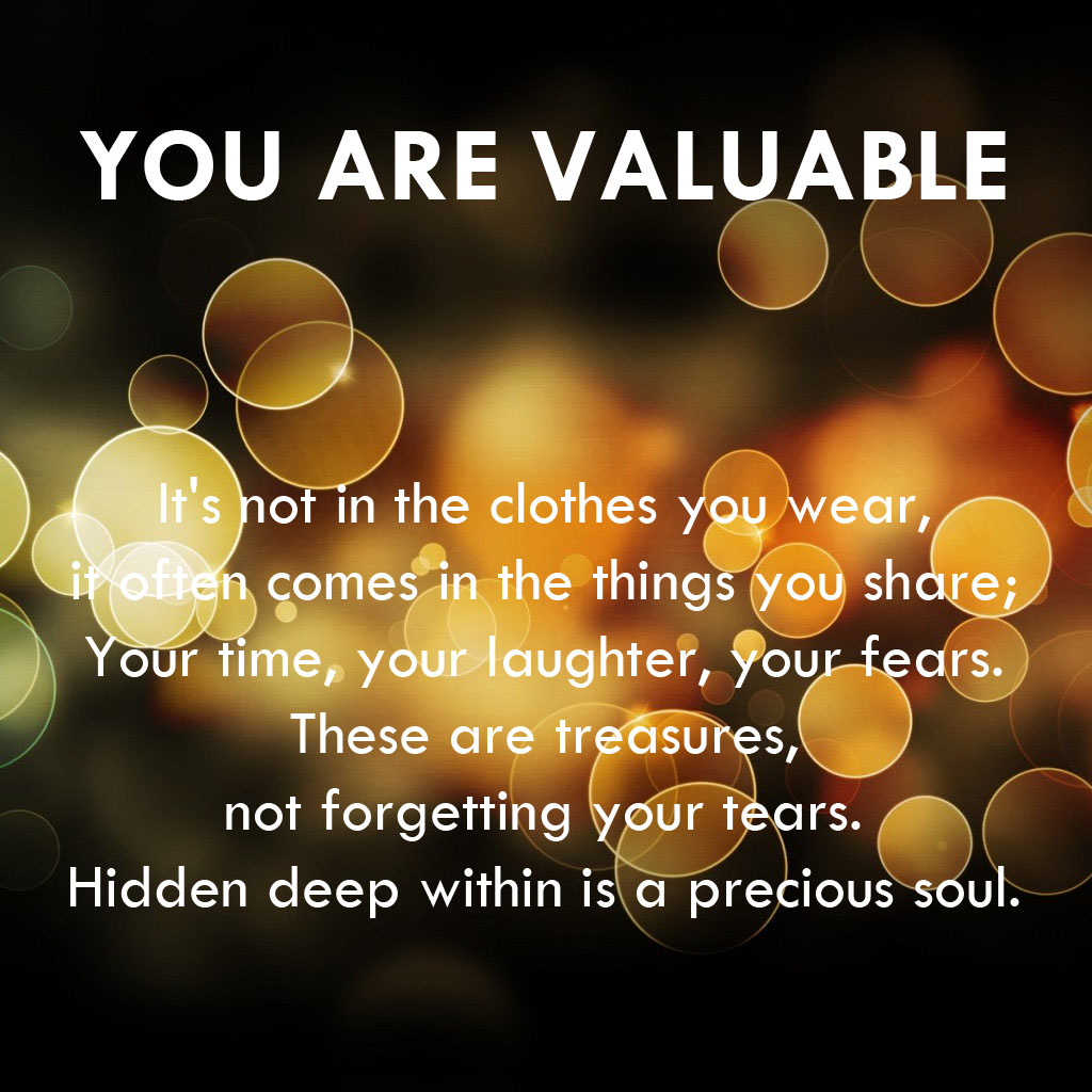 Michael Harrison's e-devotion: you are valuable