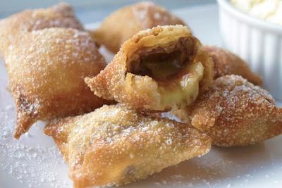 Le Petit Ogre: Deep Fried Chocolate Banana Wontons