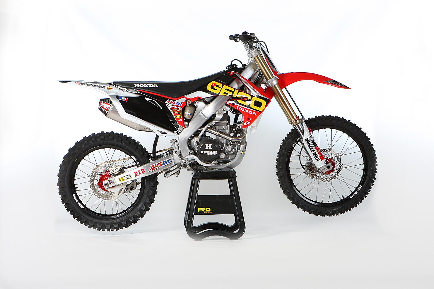 Cat Auto  SPECIAL EDITION CRF MODELS RELEASED FOR 2013