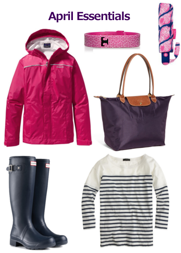 Preppy April Essentials Anchors and Pearls