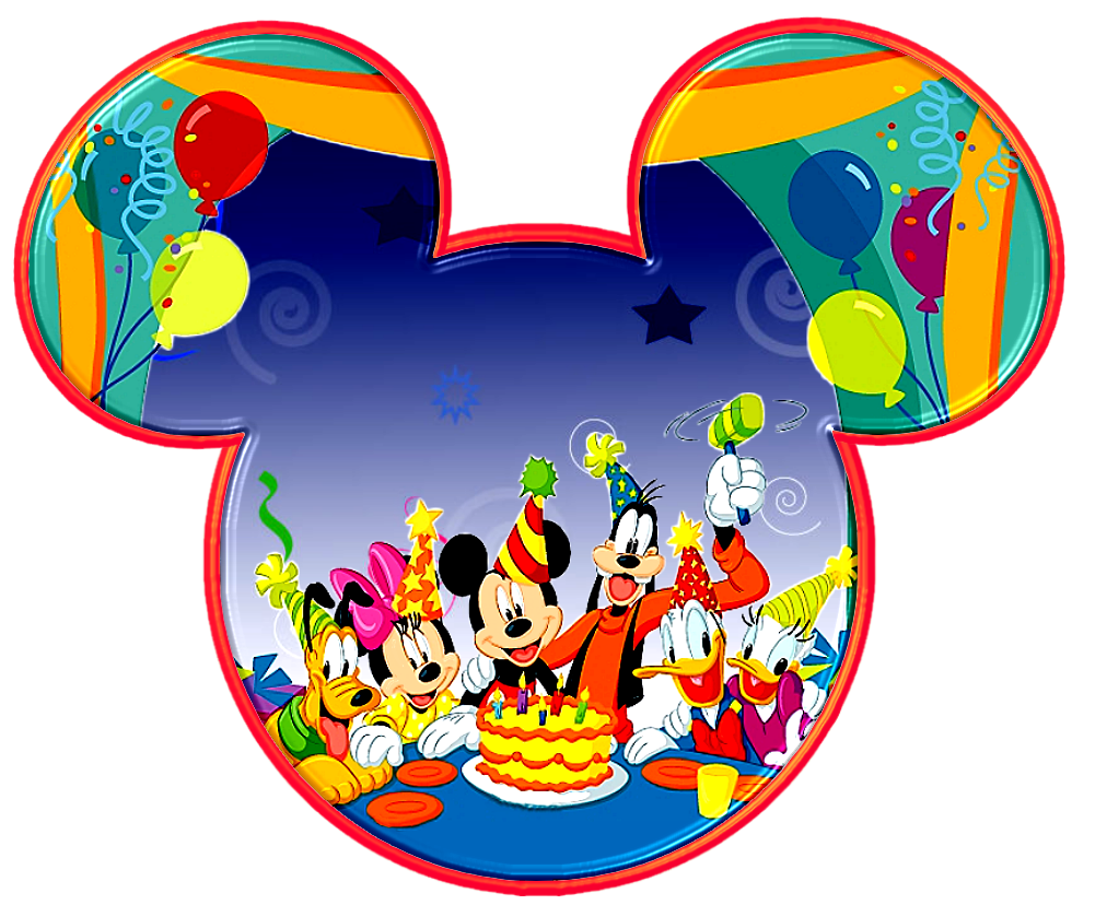 Cute Mickey Mouse Invitations with amazing invitation layout