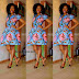 Simple And lovely Ankara Gown For African Woman
