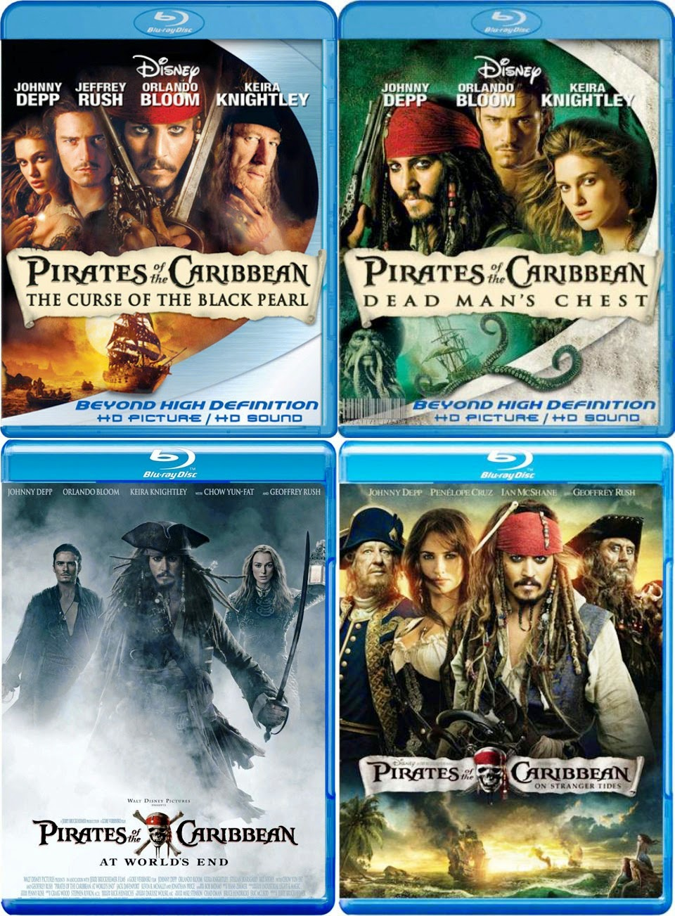 Pirates Of The Caribbean Collection (2003-2011) tainies online oipeirates