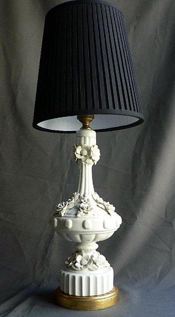 LAMPARA DE CERAMICA DE MANISES AÑOS 50/60