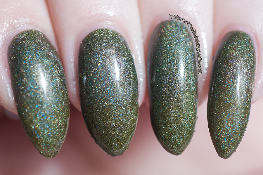 Polished by KPT Fall O You thermal nail polish swatch cold