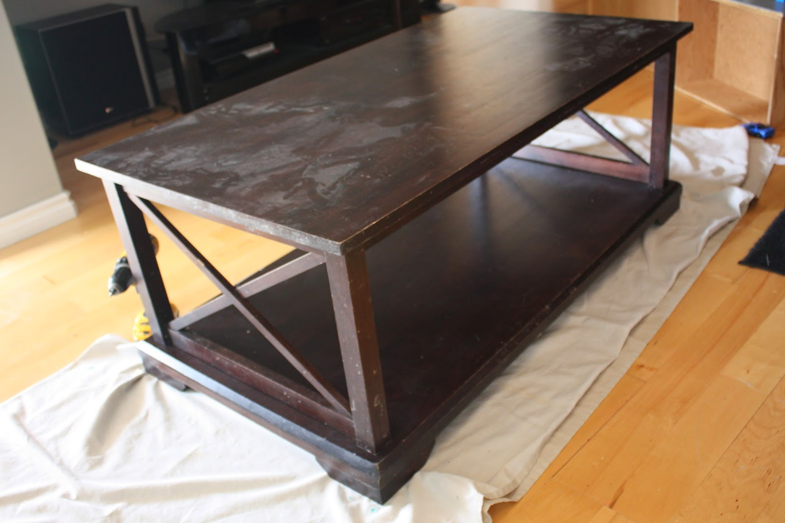 She Re Purposed It Paris Coffee Table