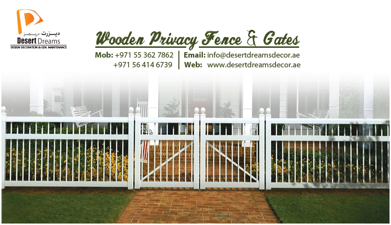 Beau Outdoor Fence Uae