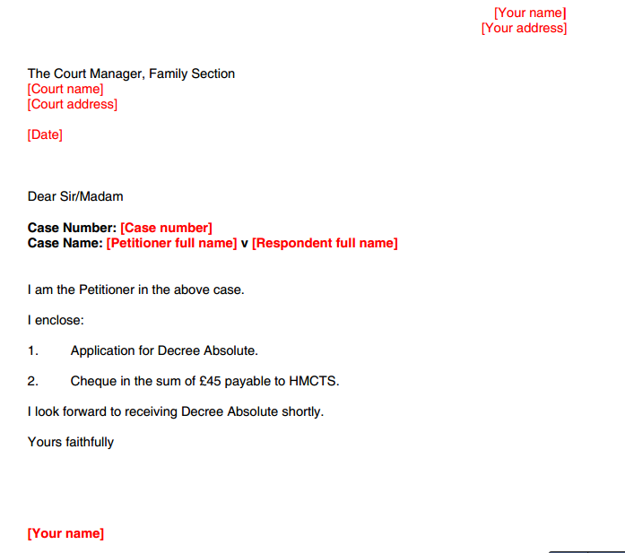 Doc638826 Divorce Notice Format Doc700934 Divorce Notice – Divorce Notice Format