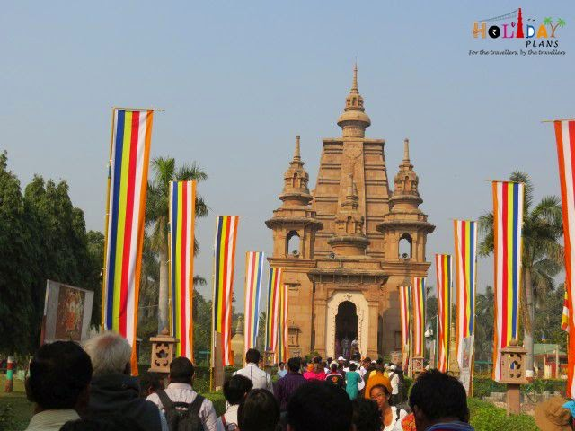 Mulagandha Kuti temple in Sarnath