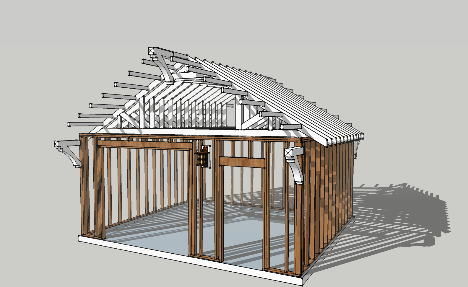 Plans to build garage framing plans pdf plans for A frame house plans with garage
