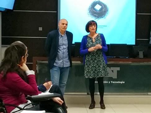Fernando Labarta y Luisa Arana