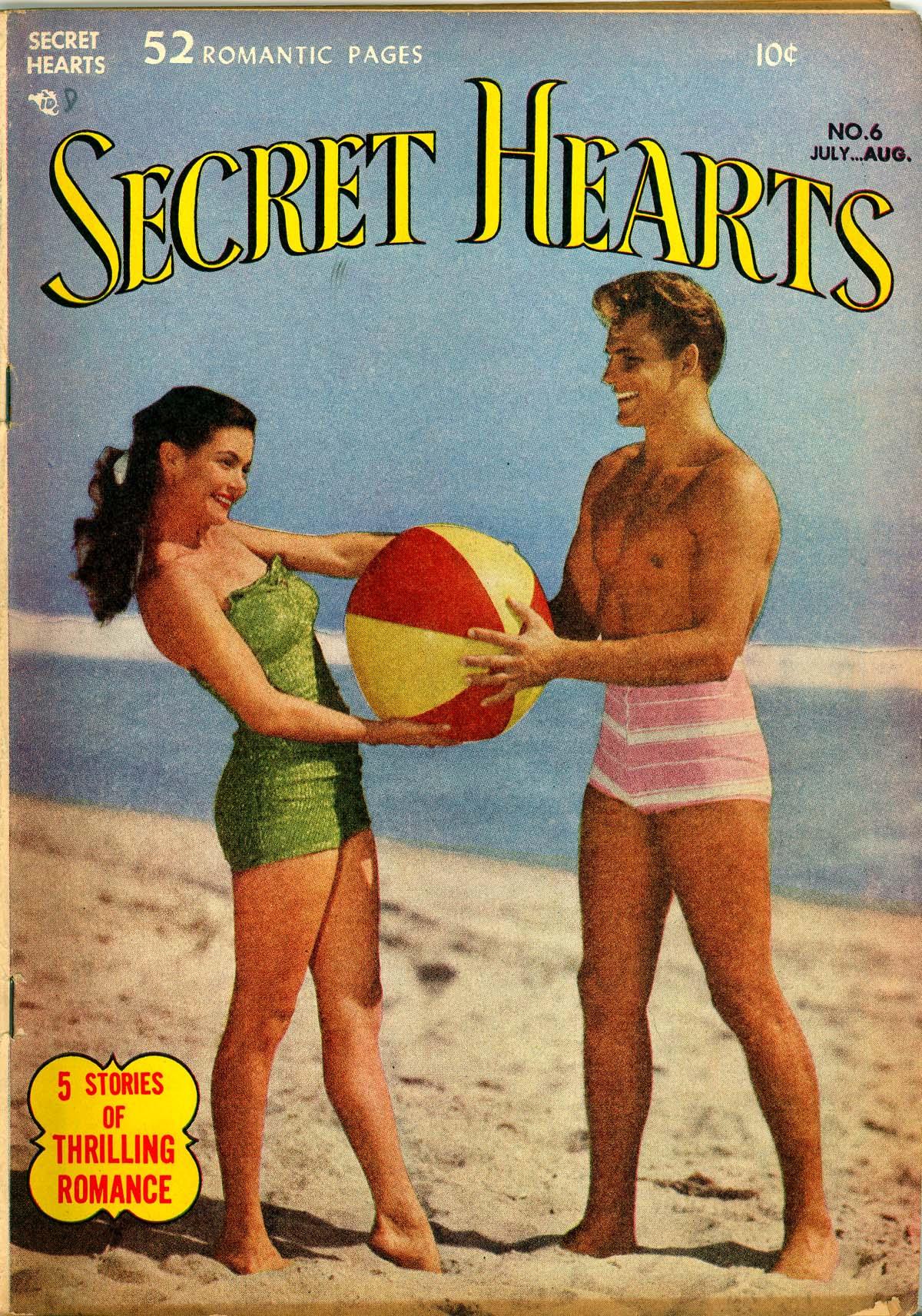 Read online Secret Hearts comic -  Issue #6 - 1