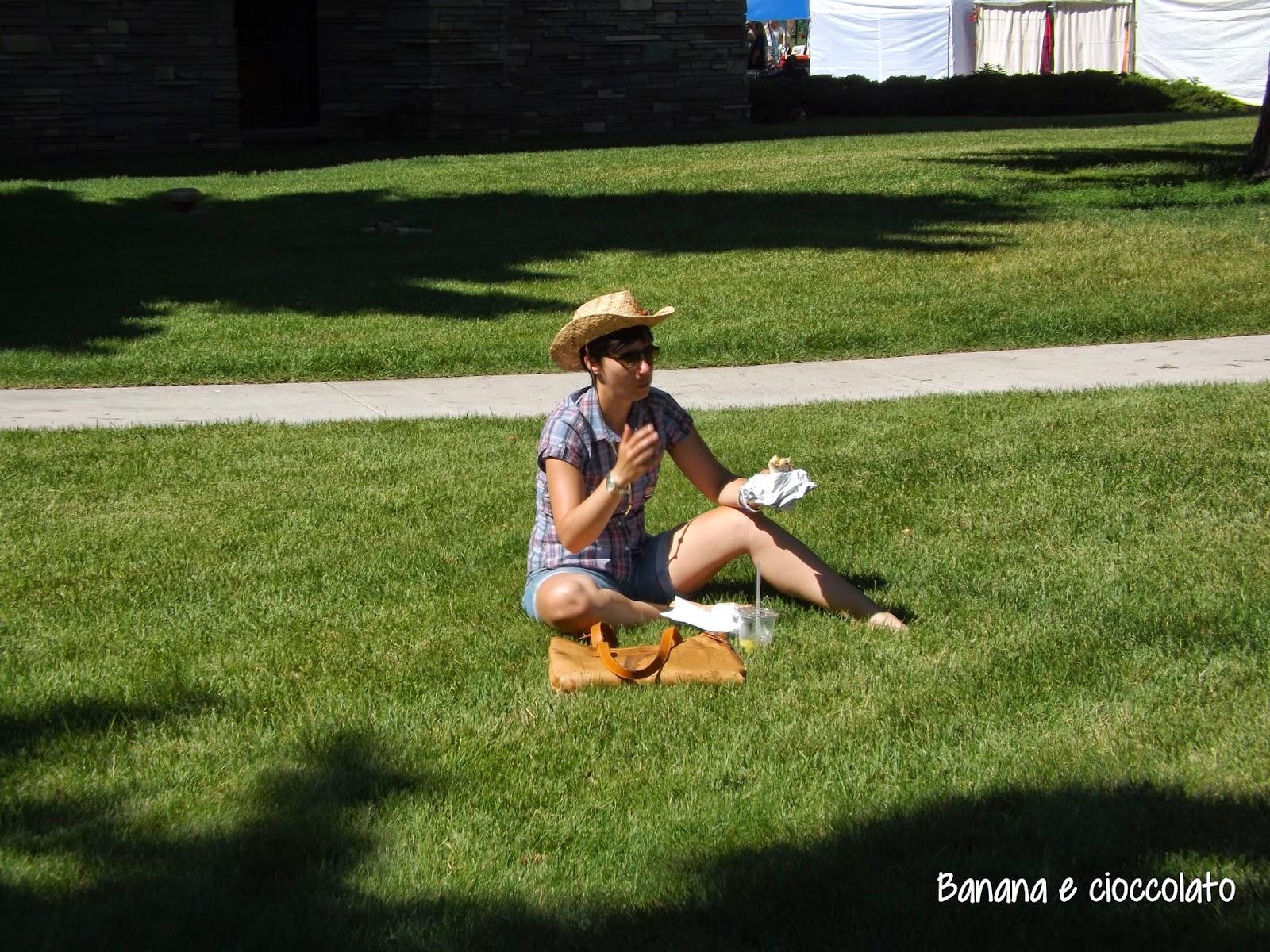 Cody, Wyoming, Silvia Diemmi, banana e cioccolato