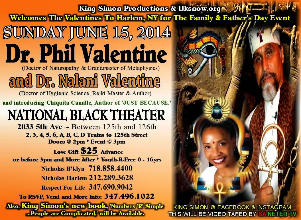 DR. PHIL VALENTINE U0026 NALANI VALENTINE IN NYC AND MORE.