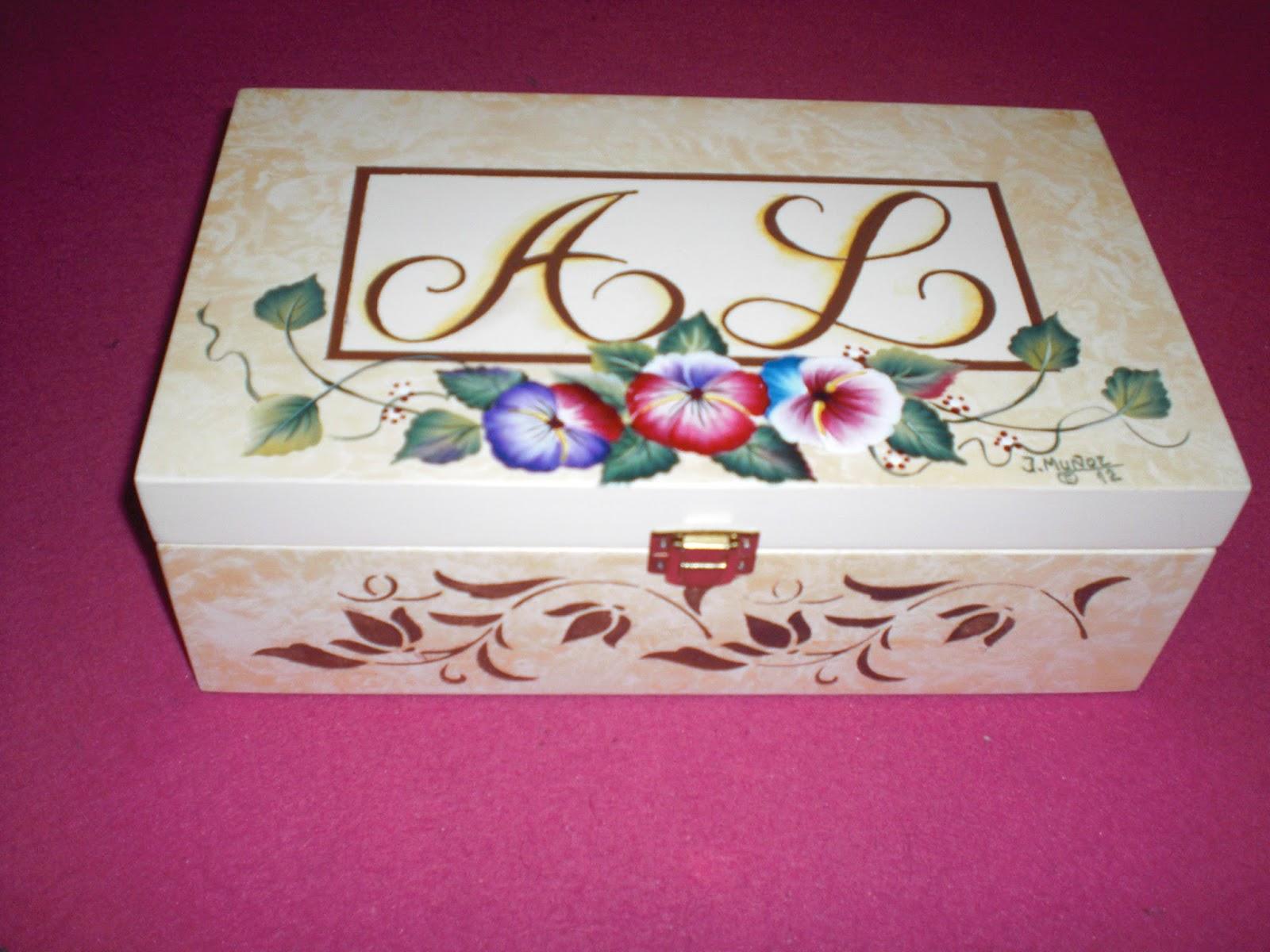 Pintura decorativa jose cajas de madera - Cajas de madera decorativas ...