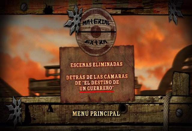 The Warriors Way DVDR Menu Full 2011 Español Latino Descargar