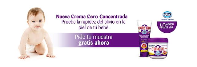 muestras gratis crema cero