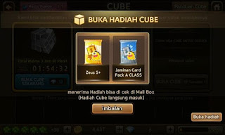 Trik Event Lucky Cat Cube dan Jackpot Draw Get Rich 18 September 2015.