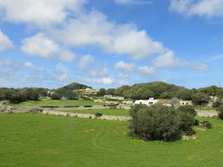 Paisaje interior de Menorca