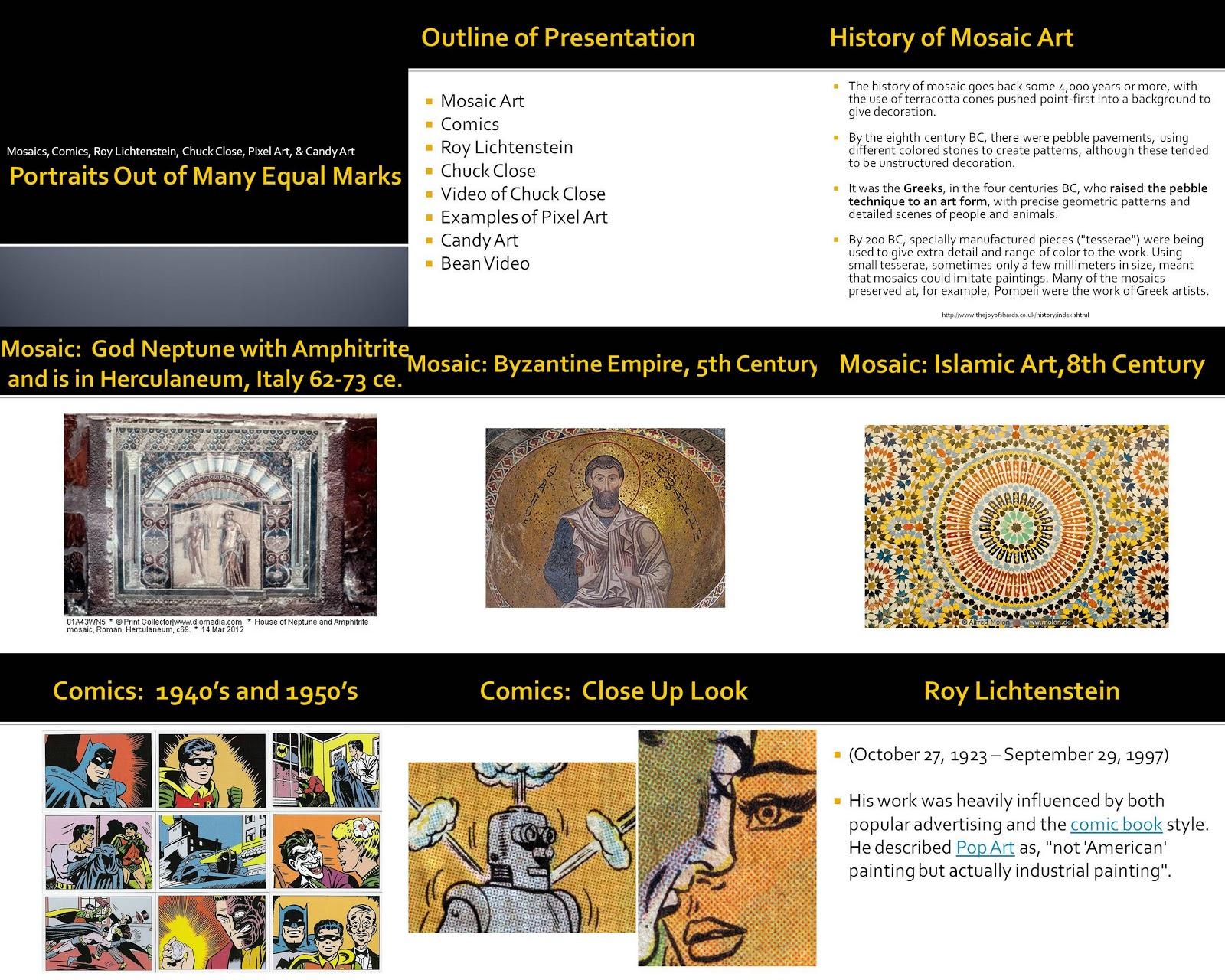 sutka and art education pixel art powerpoint