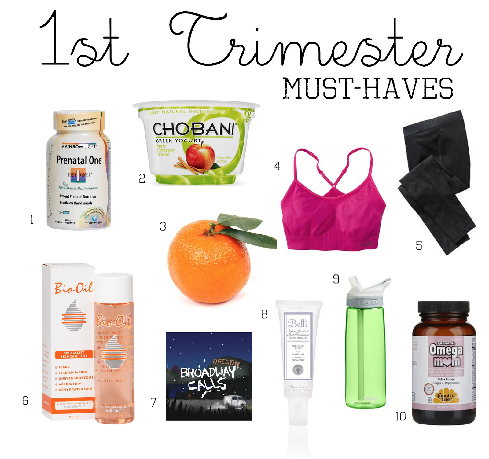 Sometimes Sweet: 1st Trimester Must-Haves