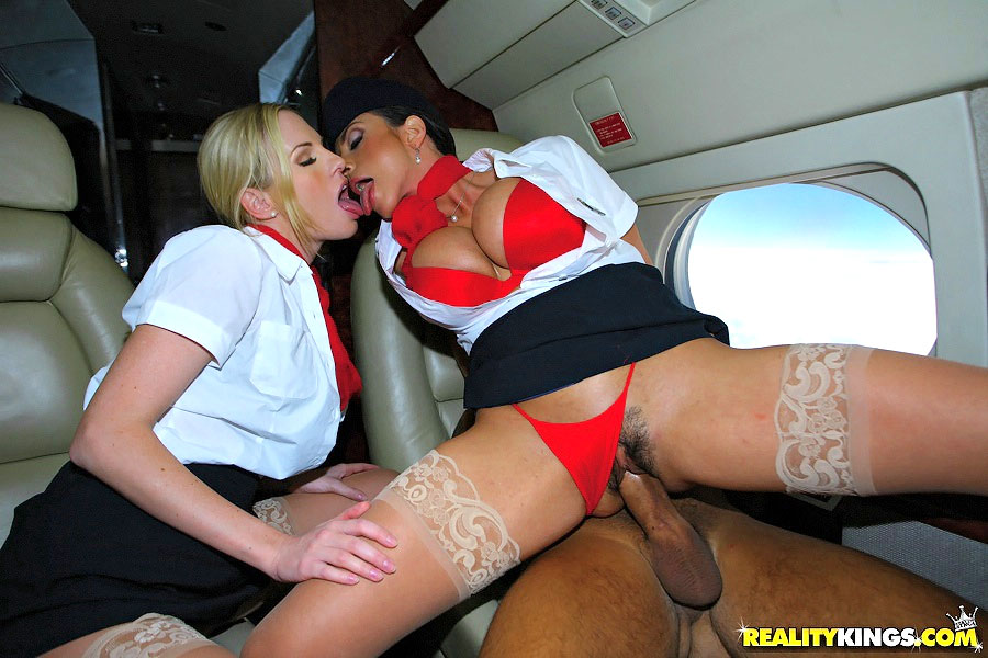 стюардесс секс фото
