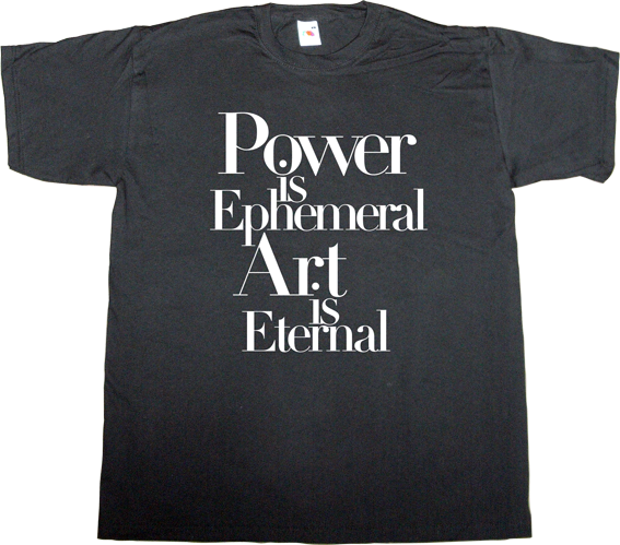 art brilliant sentence t-shirt ephemeral-t-shirts