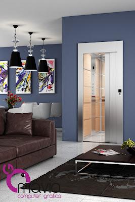 Arredamento di interni rendering 3d rendering for Arredamento ville moderne