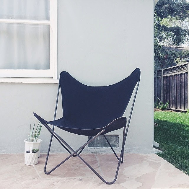 #thriftscorethursday Week 16 Features | Instagram user: futuristichuman shows off this Mid Century Modern Butterfly Chair