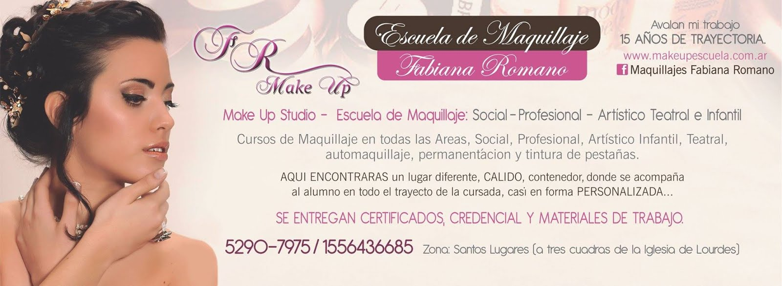 Escuela de Maquillaje Fabiana Romano