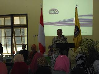Kepala Dinas Pendidikan Pemuda dan Olah Raga yang diwakili oleh Pengawas SMK Bpk Mungalim