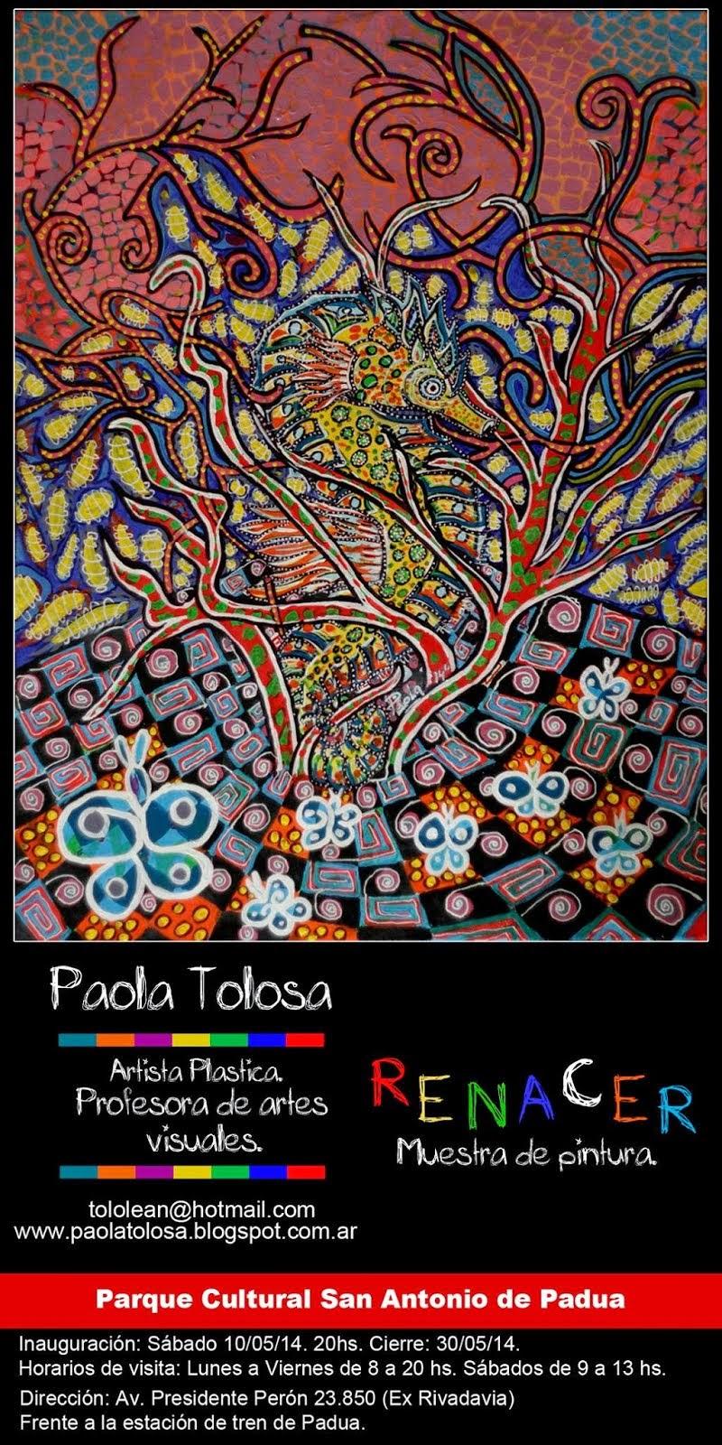 Muestra en el parque cultural de San Antonio de Padua