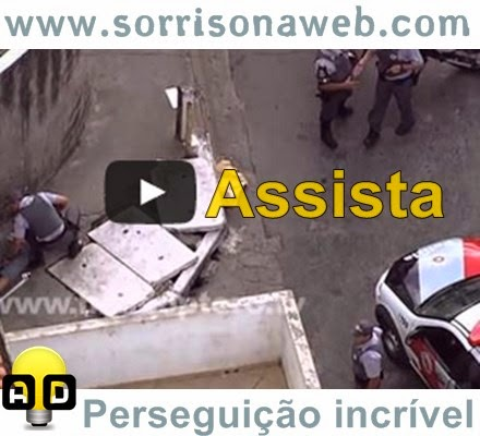 Perseguição policial em São Paulo
