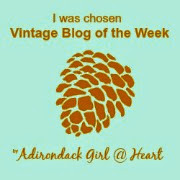 My Vintage Blog at Adirondack Girl