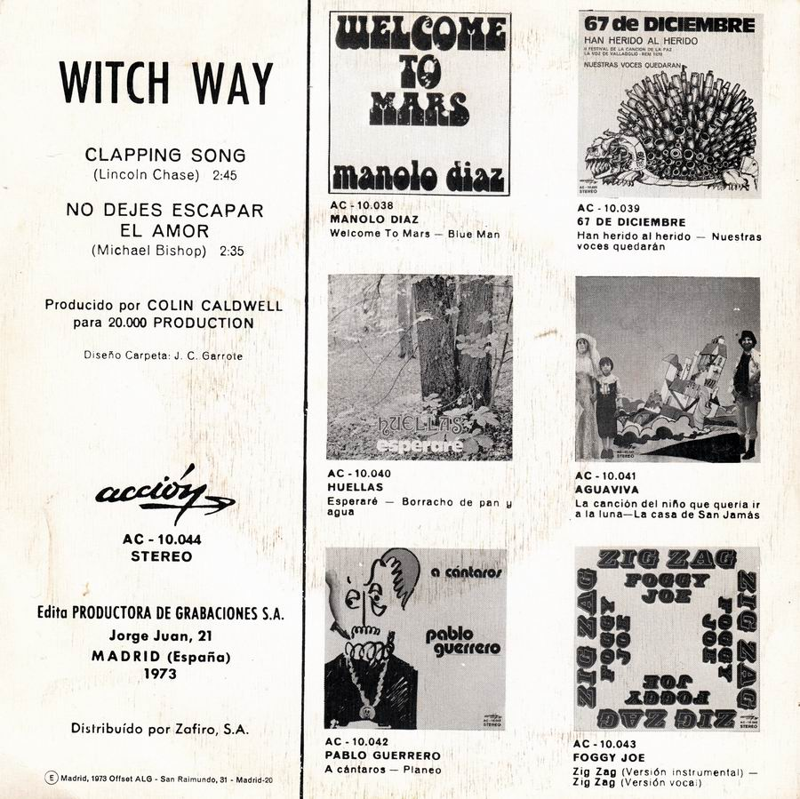 Witch Way - Clapping Song