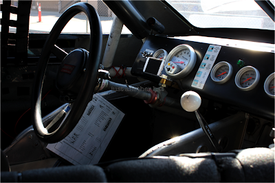 inside view of stock car