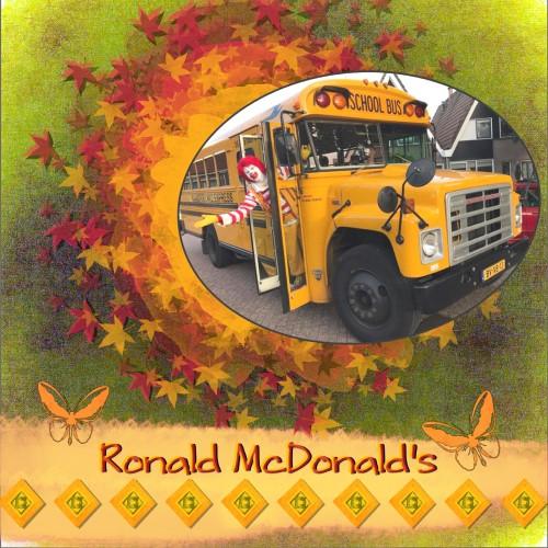 Oct. 2016 - Ronald McDonald's mask challenge lo