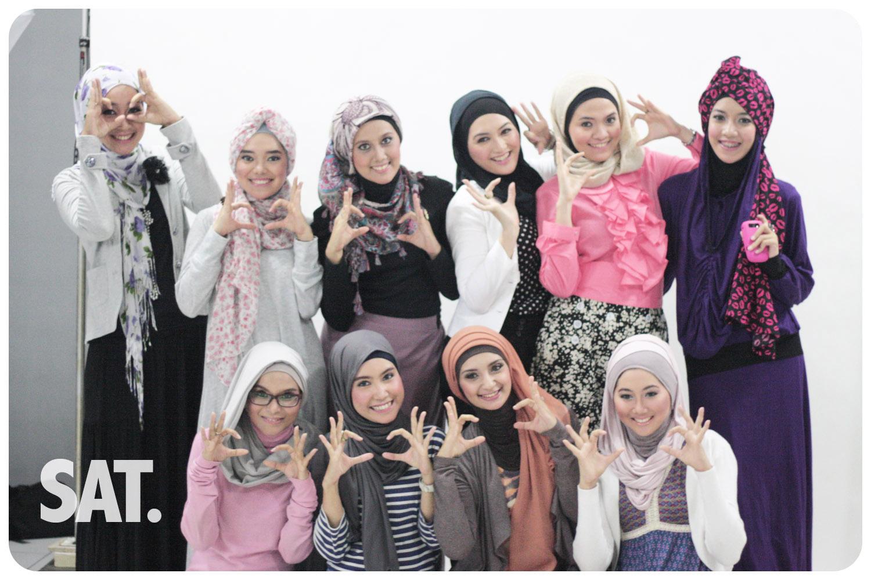 Motif Jilbab Yang Selalu Jadi Trend Tutorial Hijab