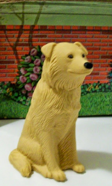 Mattel Photo Student Ken's golden retriever