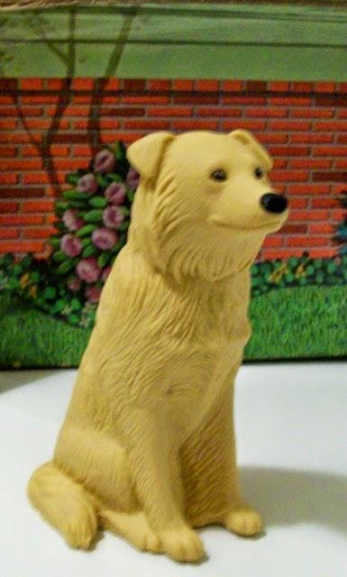 Mattel Photo Student Ken's golden retriever