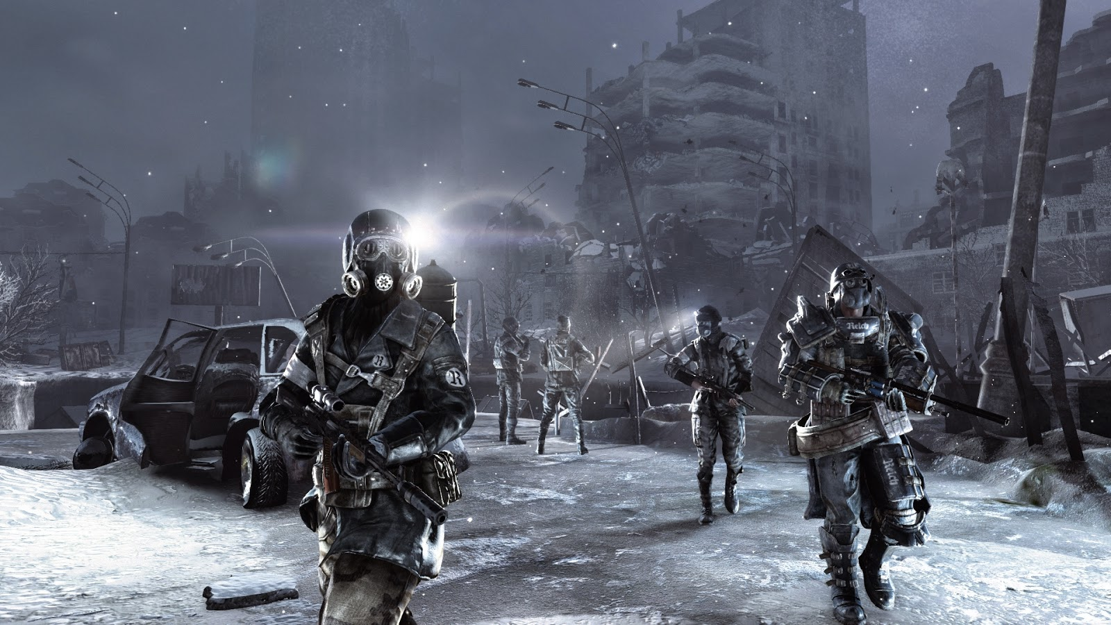 Metro 2033 Redux gameplay