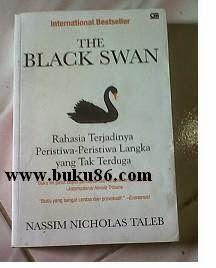 Novel The Black Swan Bekas by Nassim Nicholas