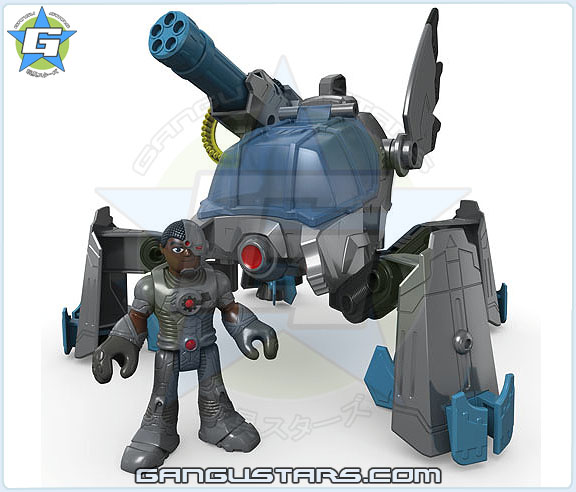 Imaginext DC Super Friends Cyborg Mech