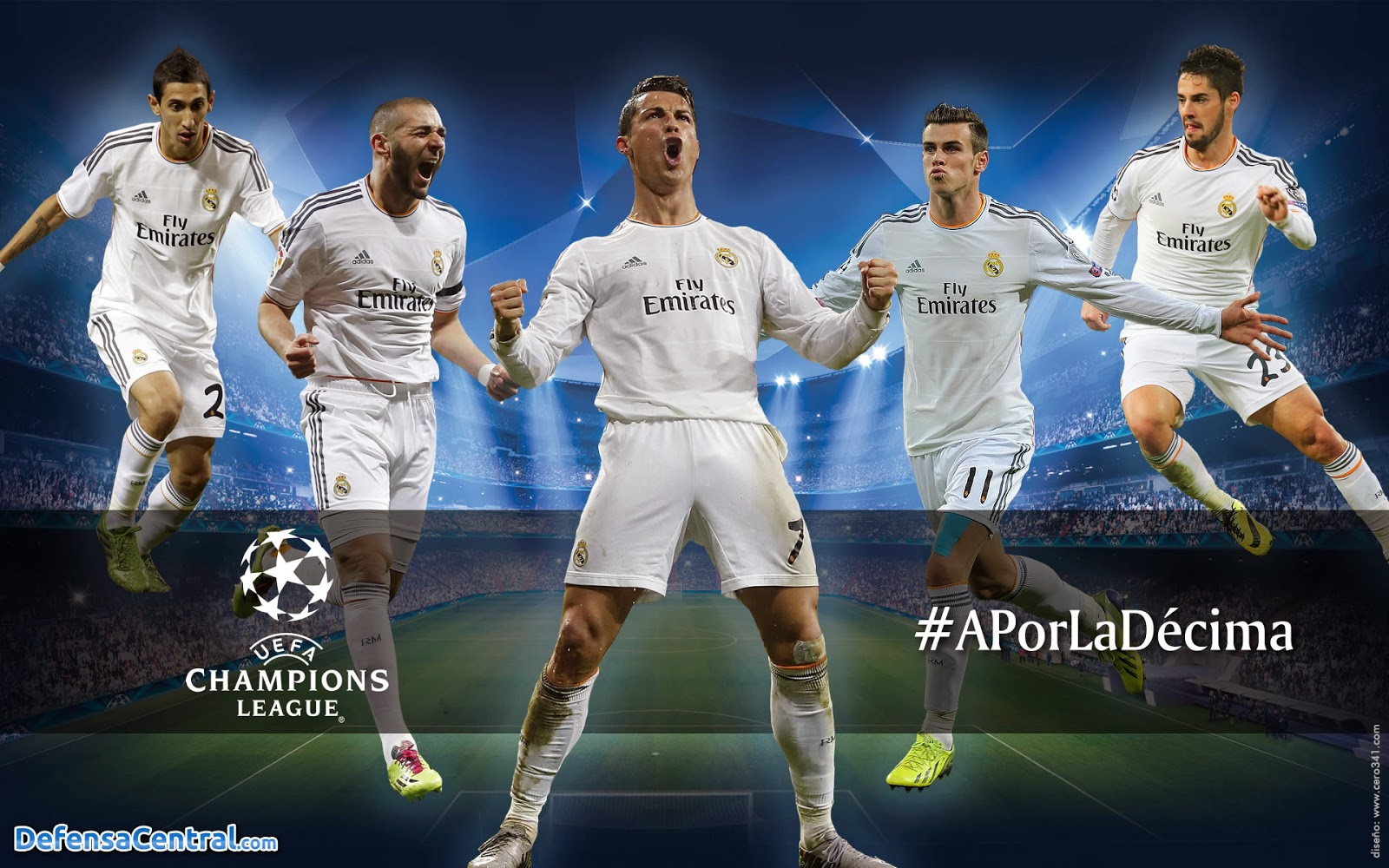 Real Madrid Champions League Wallpaper Photo HD 2014