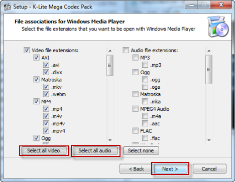 K Lite Mega Codec Pack Collection