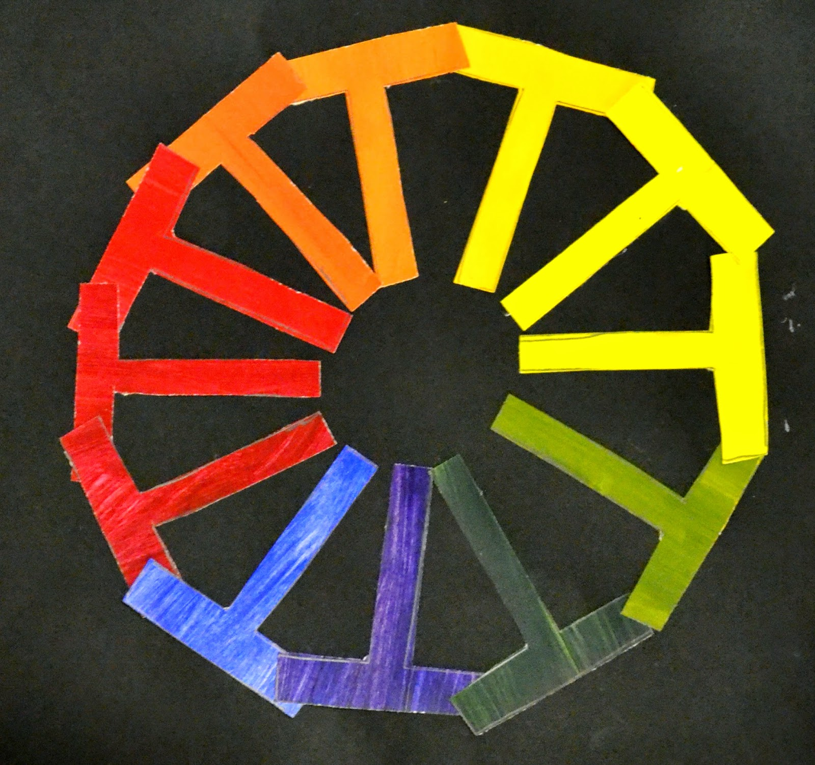 7th grade creative color wheels lessons from the k 12. Black Bedroom Furniture Sets. Home Design Ideas